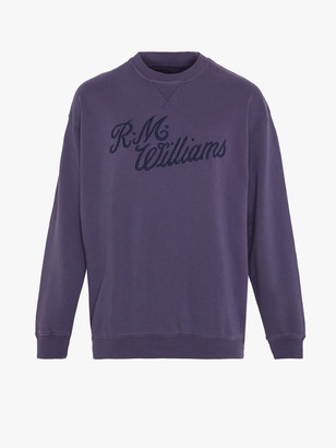 R.M. Williams R.M.W Script Crew Neck Jumper