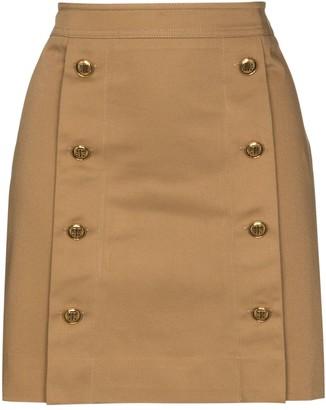 Givenchy High-Cotton Mini Skirt