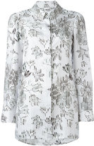 Salvatore Ferragamo floral print relaxed blouse - women - Silk - 40