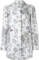 Salvatore Ferragamo floral print relaxed blouse - women - Silk - 40