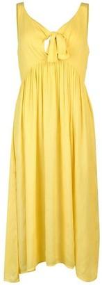 Vero Moda Vero Tie Front Midi Dress