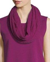 Caroline Rose Featherweight Wool Infinity Scarf
