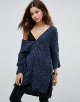 Free People Georgia V Neck Sweater