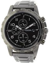 Fossil Dean Collection FS4721 Men's Stainless Steel Analog Watch