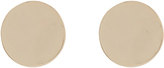 Accessorize Hammered Disc Stud Earrings