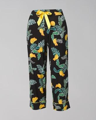 Soma Intimates Cool Nights Crop Pajama Pants