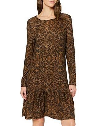 Vila CLOTHES Women's Viluno L/s Dress/rp/tb/su,Medium