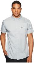 Brixton Central Short Sleeve Woven Chambray Men's Clothing