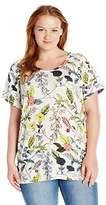 Junarose Women's Jramandy Ss-S T-Shirt,(Manufacturer Size: OVERSIZE M)