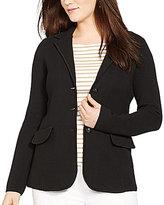 Lauren Ralph Lauren Plus Cotton Sweater Blazer