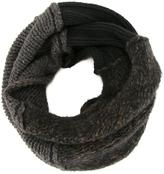 Isabel Benenato two-tone scarf