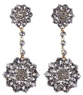 Oscar de la Renta Women's 'Classic Jeweled' Swarovski Crystal Drop Earrings