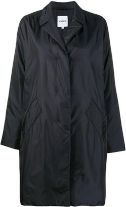 Aspesi Padded Single Breasted Coat