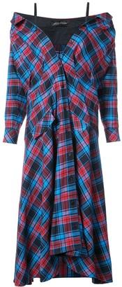 Anna October Plaid Maxi Dress