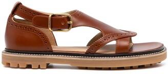 Chloé Franne flat sandals