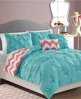 Victoria Classics Sophia Reversible 5-Piece Full/Queen Comforter Set