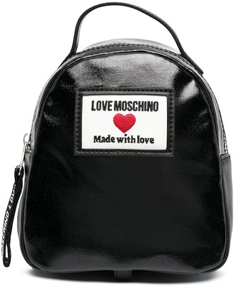 Love Moschino Sporty Label small backpack