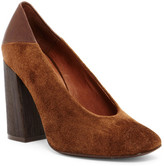 Free People Take Heart Square Toe Pump