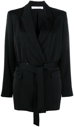 IRO Jekke double-breasted belted jacket