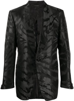 Tom Ford Print Single-Breasted Blazer