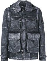 Stone Island Shadow Project - pockets denim jacket - men - Cotton/Polyamide/Polyester - L