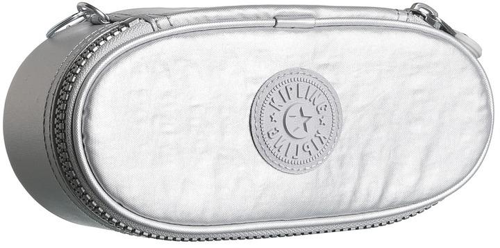 Kipling Duobox Pen Case (Silvery Metallic) - Bags and Luggage