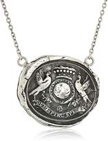"Pyrrha talisman"" Sterling While I Breathe I Hope Necklace, 18"""