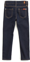 7 For All Mankind Skinny Rinse Jeans, Sizes 8-10