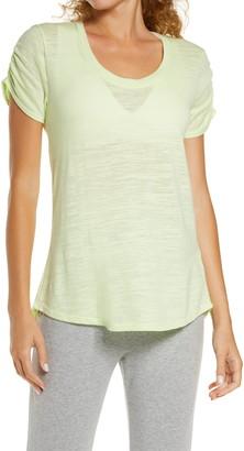 Zella Tulip Slub T-Shirt