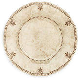 Q Squared Set of 4 Rustica Melamine Dinner Plates - Bone White