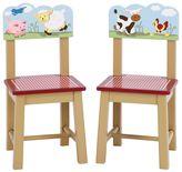 Guidecraft Farm Friends 2-pc. Chair Set