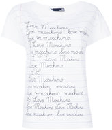 Love Moschino branded notepad T-shirt - women - Cotton - 38