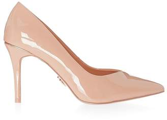 Lipsy Wide Fit Mid Heel Courts - UK 3 (EU 35.5) - Nude