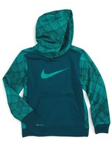 Nike 'Swoosh' Therma-FIT Hoodie (Toddler Boys & Little Boys)