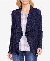 Vince Camuto Jacquard Open-Front Cardigan