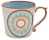 Denby Heritage Collection Terrace Rustic 1960s Arabesque Mug