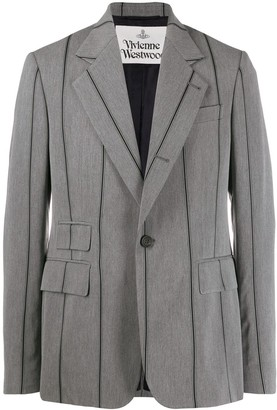 Vivienne Westwood Striped Suit Jacket