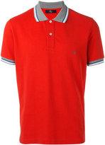 Fay contrast collar polo shirt - men - Cotton - M