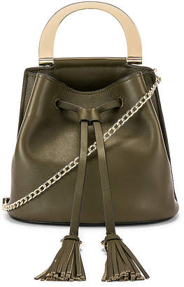 Zac Posen Biba Buckle Soft Bucket Crossbody