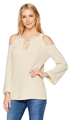 525 America Women's Bar Bell Cold Shoulder