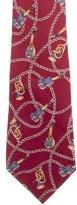 Chanel Chain-Link Silk Tie