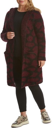 Adyson Parker Animal Hooded Open Cardigan