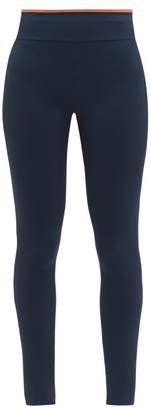 Vaara Maia Classic Technical-jersey Leggings - Womens - Navy Multi