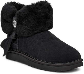 UGG Classic Mini Genuine Shearling Bootie