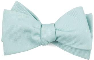 Tie Bar Grosgrain Solid Spearmint Bow Tie