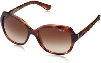 Vogue Womans Unisex-Adult Men's Vo2871s Square Sunglasses