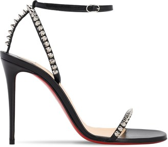 Christian Louboutin 100MM SO ME LEATHER SANDALS