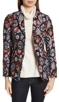 Theory Women's Floral Jacquard Riding Jacket