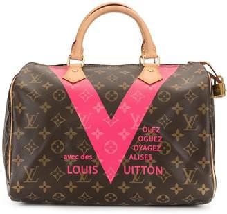 Louis Vuitton Pre Owned Speedy 30 hand bag