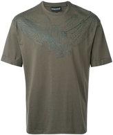 Emporio Armani bird print T-shirt - men - Cotton - XL